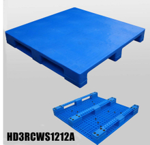 1200*1200*150 mm 3 Runners closed deck plastic pallet