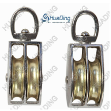 Die Casting Double Swivel Pulley