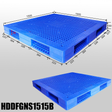 1500*1500 Double Faced Heavy Duty Stackable Pallets Plastic