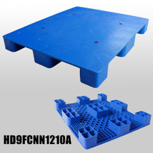 L1200*W1000*H130m plastic pallet with 9 fee & close deck