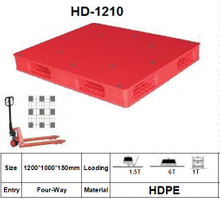 Plastic Pallet with Double-Faced Plastic Pallets for Warehouse