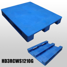 1200*1000*160mm 3 Runners closed deck hygeian plastic pallet