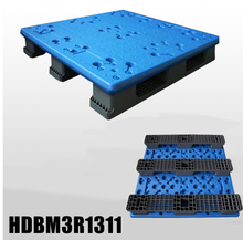 Extra high load capacity blow molding plastic pallet 1300x1100x150mm