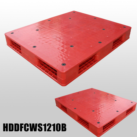 Double faced stack able plastic pallets 1200*1000*150mm