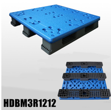 Extra high load capacity blow molding plastic pallet 1200x1200x150mm