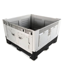 1200*1000*810 Industry Foldable Plastic Pallet Box