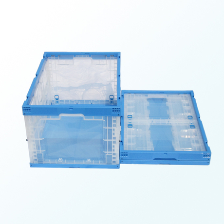 Collapsible box with side door 650-440-345