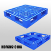 Large Plastic Pallets Stackable Plastic Pallet with Full Perimeter Bottom