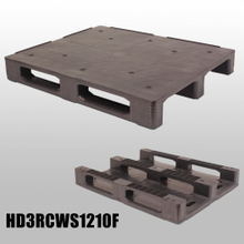 1200*1000*155mm 3 Runners closed deck hygeian plastic pallet