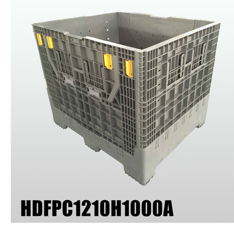 Foldable Pallet Container Bulk Plastic Storage Containers