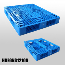 Plastic Shipping Pallets Stack-able Plastic Pallet with 6 Runners Bottom And Open Deck