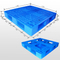 1100*1100*150 mm plastic pallet with full perimeter bottom and open decks
