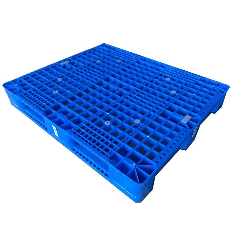 1200*1000*160 mm Industry plastic pallet with 3 runners and mess deck