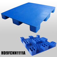 L1100*W1100*H140m plastic pallet with 9 fee & close deck
