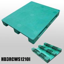 1200*1000*150mm 3 Runners closed deck hygeian plastic pallet