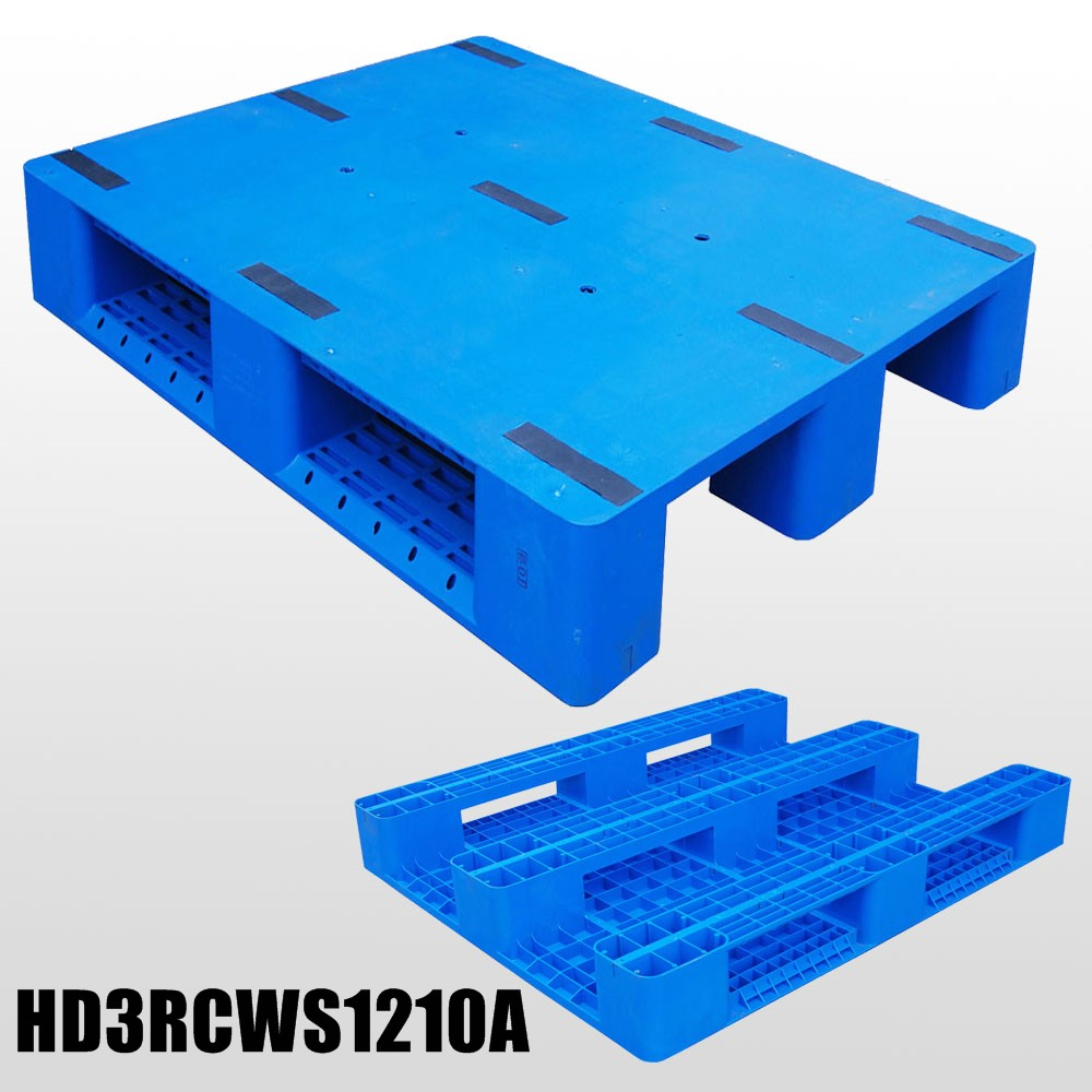 3 Runner closed deck plastic pallet L1200*W1000*H150mm