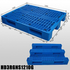 Plastic Pallet Suppliers Industry Plastic Pallet with 3 Runners And Mess Deck