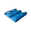 Stacked Steel Tubes Single Plastic Pallet for Storage