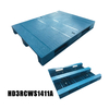 Steel Reinforced Racking Plastic Pallet for Packaging