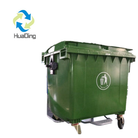 Outdoor Trash Cans with Wheels for Sale