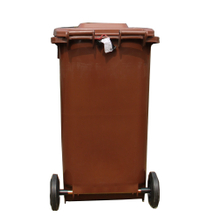 240L Outdoor Trash Cans on Wheels