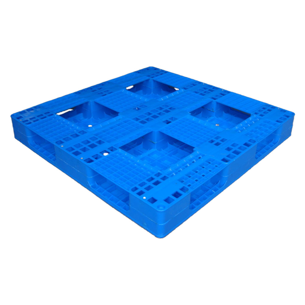 Smooth Surface Single Face Plastic Pallets for Warehouse