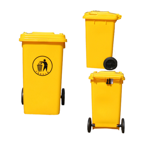 100L Small Outdoor Trash Can