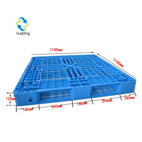 1100*1100 Full Perimeter Open Deck Heavy Duty Plastic Pallets