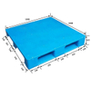Reusable Forklifit Plastic Pallet with Steel Tube