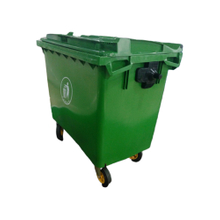 660L Closed Belt Cover High Quality Garbage Cans