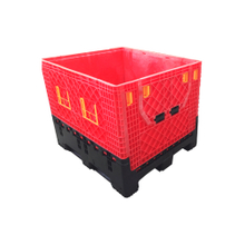 Bulk Storage Containers with Lids Collapsible Plastic Pallet Box
