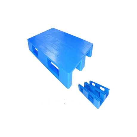 1200*800 Close Deck Single Warehouse Plastic Pallet