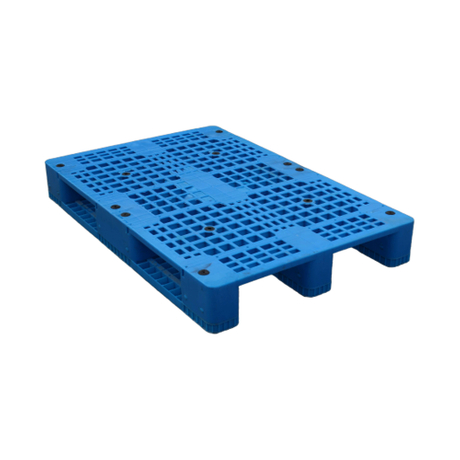 1200*800 Three Runners Open Deck Single Faced Cheap Good Plastic Pallet