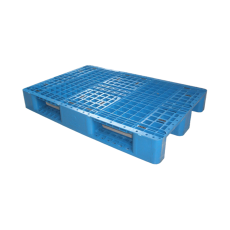 1200*800 Three Runners Open Deck Recyclable Industrial Plastic Pallet