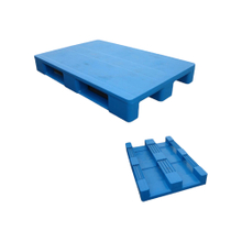 1200*800 Close Deck Single Face Heavy Duty Plastic Pallet