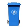 Garbage And Recycling Cans Export Plastic Bin for Packaging