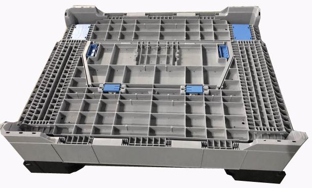 Reusable Ventilated Collapsible Pallet Containers Storage Boxes And Bins