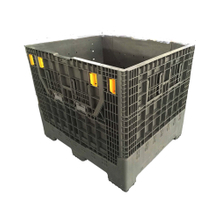 Hdpe Heavy Duty 1200*1000*1000 Transport Plastic Pallet Box