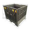 Collapsible Large Foldable Storage Box Container Plastic Box Pallet