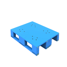 1500*1200 Three Runners Closed Deck Rackable Plastic Pallets