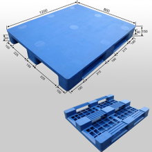 Steel Tubes Plastic Pallet for Warehouse Storage
