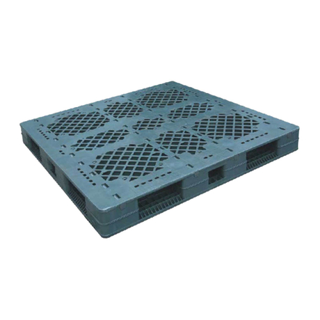 Heavy Duty Recycled Grid Plastic Pallets