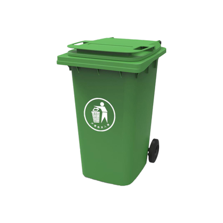 Outdoor Large Plastic Rubbish Bins Plastic Waste Bin