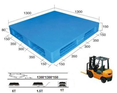 Plastic Pallet with Smooth Surface Wholesale Plastic Pallet