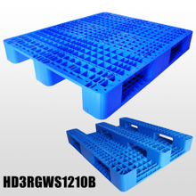 1200*1000*155 mm Industry plastic pallet with 3 runners and mess deck